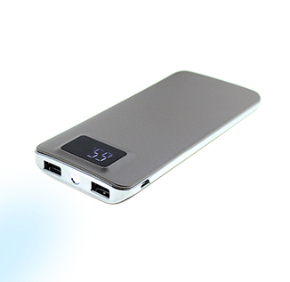 Power Bank s LED svítilnou , 10 000 mAh